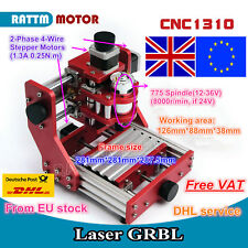 【UK+EU】DIY 1310 Mini CNC Router Metal Pcb Wood Cutting Engraving Milling Machine