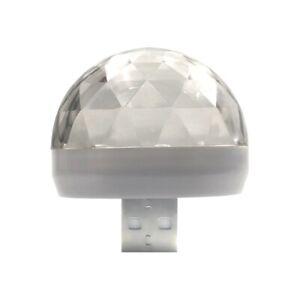 USB Car Interior Lamp RGB Mini Colorful Starry Sky LED Roof USB Projector Light