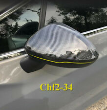 For Chevrolet Cruze 2017 2018 Carbon fiber style Rearview Mirrors Cover Trim*2X