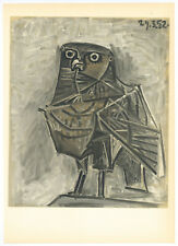 "Pablo Picasso lithograph ""The Owl"""