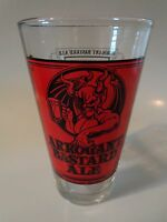 BEER Pint Glass: Stone Brewing Company ~ Arrogant Bastard Ale ~ CALIFORNIA