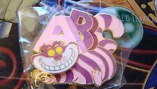 ~2016 DSSH Surprise Alphabet Series Cheshire Cat Limited Edition 300 Disney Pin!