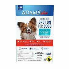 Plus Flea and Tick Spot On for Dogs, Small Dog Flea Treatment, 5-14 Pounds, 3 M