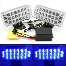 "2PCS 10.6"" 27cm Flashing Emergency 22 LED Light Grill Strobe Flash Lamp 12V"