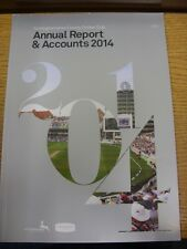2014 Cricket: Nottinghamshire County Cricket Club Annual Report & Accounts 2014.