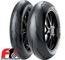 Coppia Gomme Pirelli Diablo Supercorsa SC1 120/70-17 58W+190/55-17 SC2 75W [4G]