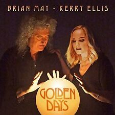 BRIAN MAY KERRY ELLIS GOLDEN DAYS CD ALBUM (New Release April 7th 2017)