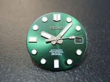 "NEW SEIKO AFTERMARKET MM300 ""GREEN HULK"" DIAL DATE ONLY WILL FIT SEIKO SKX007"