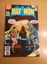 DC: BATMAN #330, BLACK/TALIA COVER, HIGH GRADE!!!, 1980, NM- (9.2)!!!