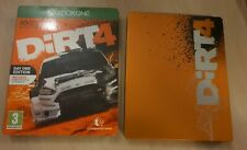 DIRT 4 - Xbox One STEELBOOK ONLY