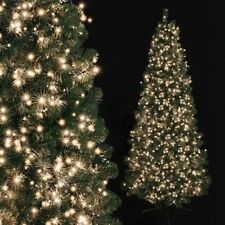 1000/1500/2000LED Multi Action Bright Warm White Christmas Tree Decoration Light
