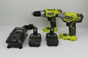 Ryobi P235 Impact Drill P277 Drill 18V Lithium Ion Cordless Rechargeable