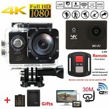 Ultra HD 4K Action Camera Wifi Video Waterproof + 30PCS Accessories as Gopro UK