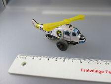 Bell: Blech- Hubschrauber, Police Patrol , Federwerk, Tin Toy  (GK16)