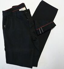 Raleigh Denim LIMITED # 55/58 Black Selvage Selvedge Thin Fit Denim Jeans 33