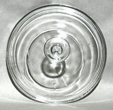 PYREX  G5C   7 1/2 Inch Round Clear Glass Lid