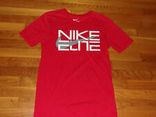 Nike Elite Athletic Cut Short Sleeve Red T-Shirt Mens Small Excellent Condition