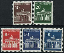 West Germany 1966-8 SG#1412-1415a Brandenburg Gate MNH Set #D419 Cat £16