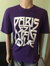 Nike Paris Saint Germain Purple T Shirt Size XL