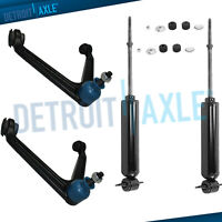 2WD Front Shocks Upper Control Arms for 2002 2003 2004 2005 Dodge Ram 1500 5-Lug