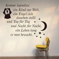 Weihnachten Engel Spruch Wandtattoo Winter Wandsticker Aufkleber Sticker