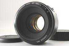 【TOP MINT】CANON LENS EF 50mm 1:1.8 F/1.8 Ⅱ AF Lens From JAPAN