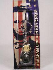 Harmony Kingdom Pot Bellys / Belly Key Chain Abraham Lincoln #Pbkhal New