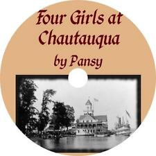 Four Girls at Chautauqua, Isabella Alden Pansy Audiobook on 1 MP3 CD Free Ship