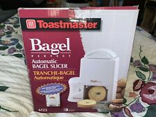 Toastmaster Bagel Perfect Automatic Bagel Slicer Model 6125 New Unused Open Box