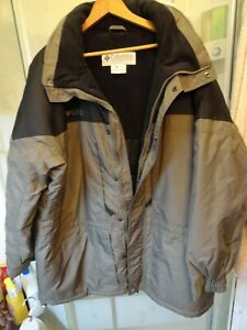 NWOT Mens Olive/Taupe Columbia F9 SM5007 Winter Jacket - SZ 3X