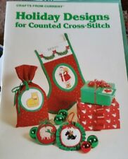 Crafts From Current Holiday Designs  For Counted Cross Stitch