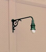 Walthers SceneMaster 949-4311 HO Scale Ornate Wall-Mounted Light Pkg (3)