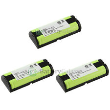 3 NEW Cordless Home Phone Rechargeable Battery for Panasonic HHRP105 HHR-P105