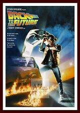 Back To The Future  Iconic & Cool Movie Poster Vintage & Classic Films