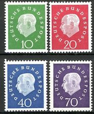 Germany Heuss Issues of 1959 Set of 4 MNH Scott's 794 to 797