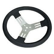 "15"" DISHED ALUMINIUM STEERING WHEEL SPEEDWAY DRAG AMCA PRODUCTION SEDAN"