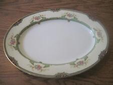 """Noritake China FLOREAL 76839    11-3/4"""" Oval Serving Platter"""
