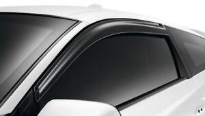GENUINE Honda Wind Deflectors Visors PAIR - Honda CRZ CR-Z ZF1 - NEW UK