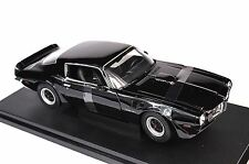 PONTIAC FIREBIRD TRANS AM 1972 BLACK WELLY 12566 1:18 NEW LIMITED EDITION