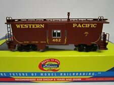 Athearn HO Scale WP Western Pacific Bay Window Caboose Car #462 NOS 74701