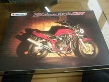 Suzuki Bandit 1200 brochure Jun 2000