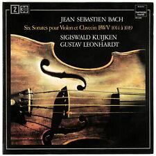SIGISWALD KUIJKEN (VIOLIN) - J.S. Bach - Double LP