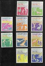 Albania 1964 UMM Olympic Games, Tokyo sg 842/51