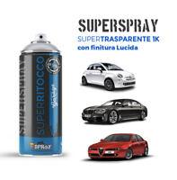 Spray Trasparente per Carrozzeria 1K resistente ad Alcool e Benzina