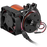 For TRAXXAS SUMMIT E-REVO UDR RC Car 42MM Motor Heatsink Cooling Fan with Sensor
