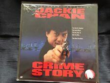 Hong Kong Laserdisc English Dubbed CRIME STORY Jackie Chan