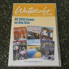 Watercolor Artist All 2010 Issues on One Disc CD CD-Rom