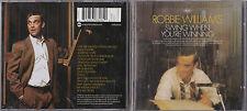 CD 15T ROBBIE WILLIAMS SWING WHEN YOU'RE WINNING DE 2001 TBE