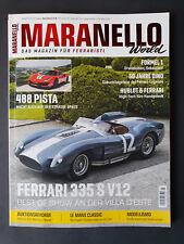 Maranello World 3/2018 110  Ferrari 335 S V12   ungelesen,Top Zustand