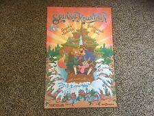 "New Disney Poster.  12"" X 18"".  Splash Mountain.  Frontierland.  WDW"